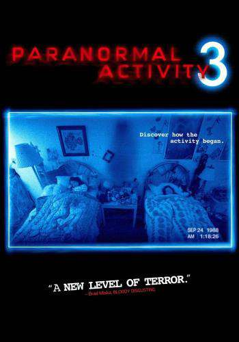 Paranormal Activity 3, Movie on DVD, Horror Movies, redbox Replay