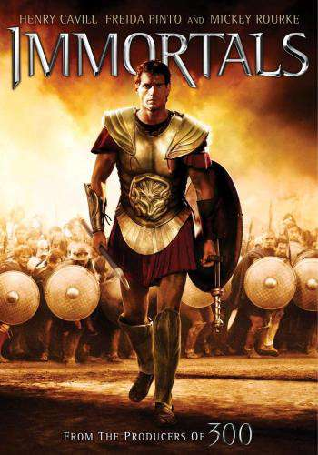 Immortals, Movie on DVD, Action Movies, Adventure
