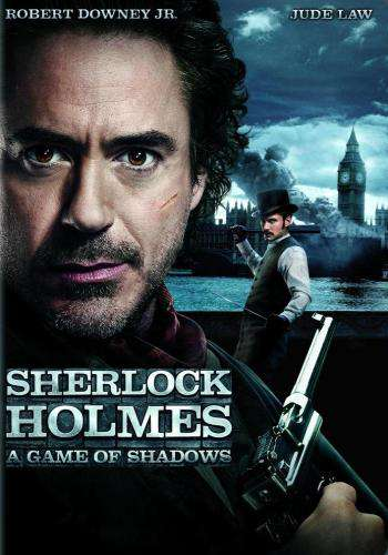 Sherlock Holmes: A Game of Shadows, Movie on DVD, Action Movies, Adventure