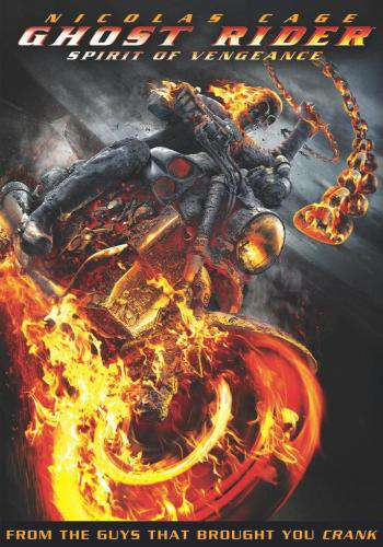 Ghost Rider: Spirit of Vengeance, Movie on DVD, Action Movies, Adventure Movies, Sci-Fi & Fantasy