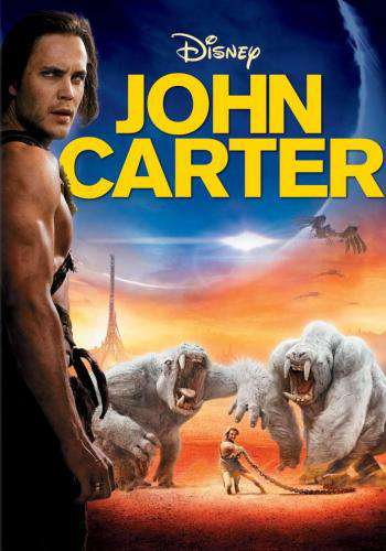 John Carter, Movie on DVD, Action Movies, Adventure Movies, Sci-Fi & Fantasy