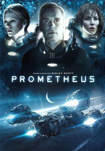 Prometheus, Movie on DVD, Action Movies, Sci-Fi & Fantasy