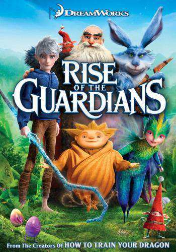 Rise of the Guardians, Movie on DVD, Family