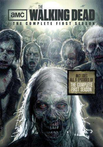 The Walking Dead (Season 1), Movie on DVD, Horror