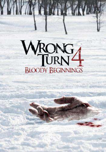 Wrong Turn 4: Bloody Beginnings, Movie on DVD, Horror