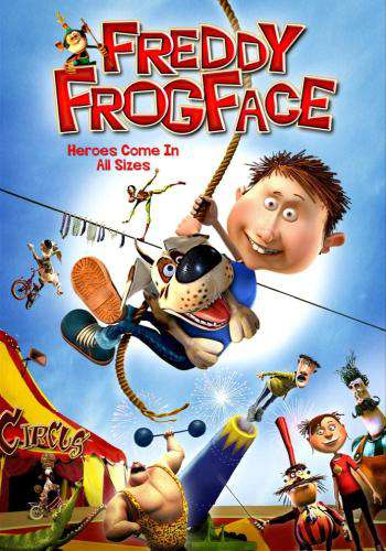 Freddy Frogface, Movie on DVD, Family