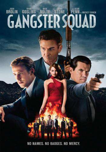 Gangster Squad, Movie on DVD, Action