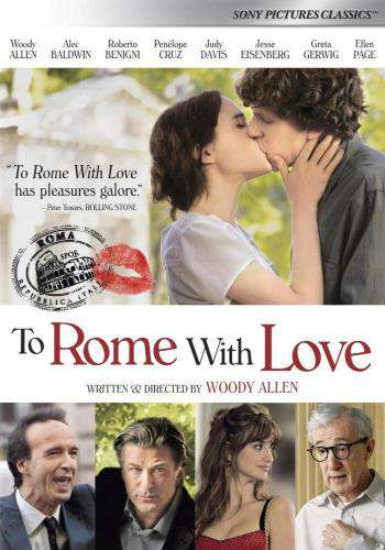 To Rome With Love, Movie on DVD, Comedy Movies, Romance