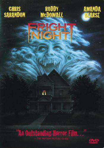 Fright Night (1985), Movie on DVD, Horror