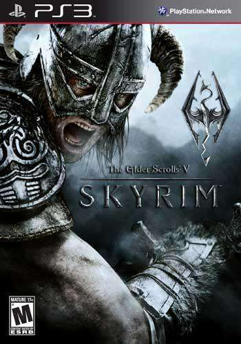 The Elder Scrolls V: Skyrim, Game on PS3, Action