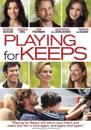 Playing For Keeps, Movie on DVD, Comedy Movies, Romance