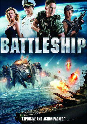 Battleship, Movie on DVD, Action Movies, Sci-Fi & Fantasy