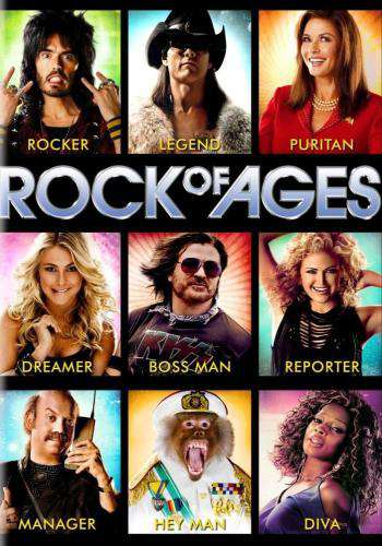 Rock of Ages, Movie on DVD, Comedy Movies, Romance
