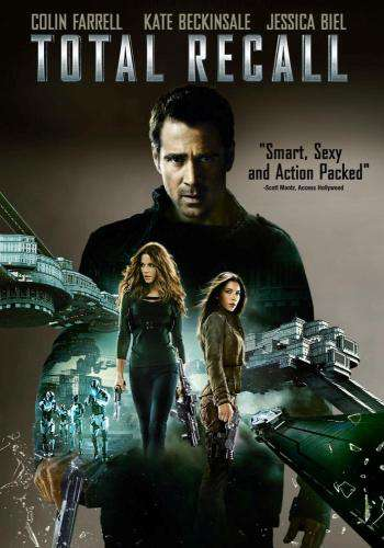 Total Recall (2012), Movie on DVD, Action Movies, Sci-Fi & Fantasy