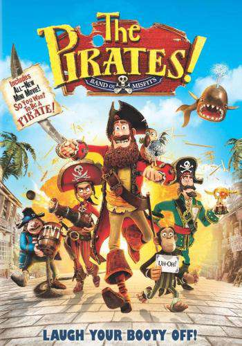 The Pirates! Band of Misfits, Movie on DVD, Comedy Movies, Family Movies, Animation Movies, Kids