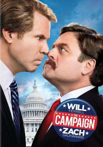 The Campaign, Movie on DVD, Comedy