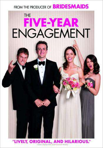 The Five-Year Engagement, Movie on DVD, Comedy Movies, Romance