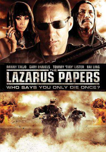 The Lazarus Papers, Movie on DVD, Action
