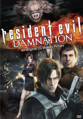 Resident Evil: Damnation, Movie on DVD, Action Movies, Sci-Fi & Fantasy