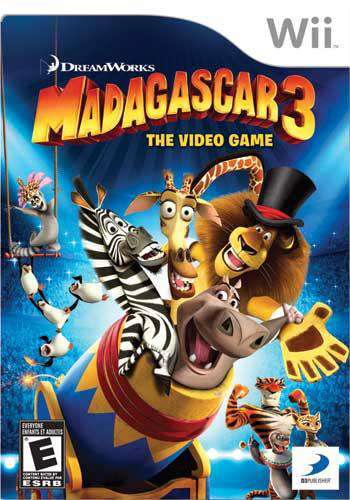 Madagascar 3: The Video Game, Game on Wii, Music & Party