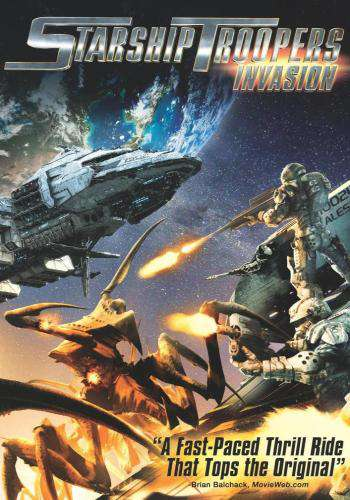Starship Troopers: Invasion, Movie on DVD, Action Movies, Sci-Fi & Fantasy