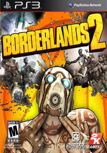 Borderlands 2, Game on PS3, Shooter