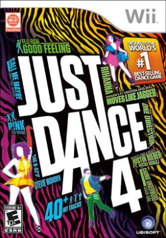 Just Dance 4, Game on Wii, Music & Party