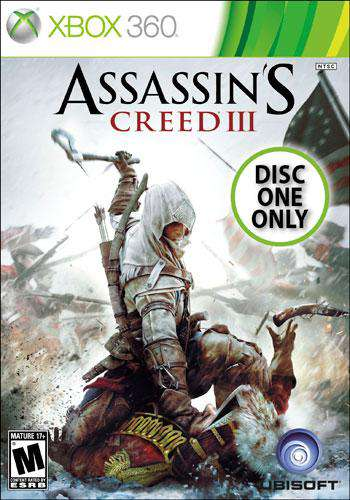 Assassins Creed 3 (Single Player - DISC 1), Game on XBOX360, Action