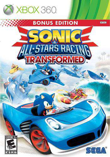 Sonic All-Stars Racing Transformed, Game on XBOX360, Sports