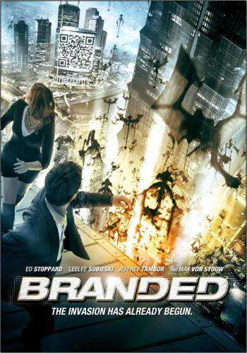 Branded, Movie on DVD, Action Movies, Sci-Fi & Fantasy