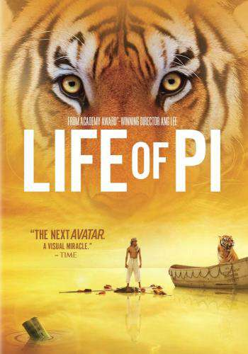Life of Pi, Movie on DVD, Drama