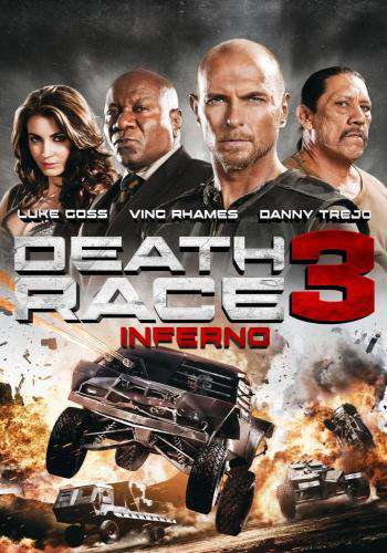 Death Race 3: Inferno, Movie on DVD, Action
