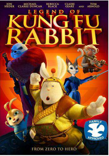 Legend of Kung Fu Rabbit, Movie on DVD, Family Movies, Kids