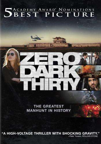 Zero Dark Thirty, Movie on DVD, Drama Movies, Suspense