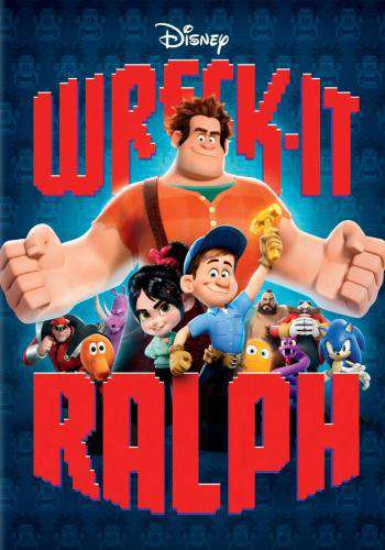 Wreck-It Ralph, Movie on DVD, Family