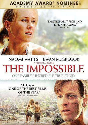 The Impossible, Movie on DVD, Drama