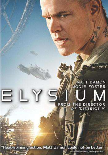 Elysium, Movie on DVD, Action Movies, Sci-Fi & Fantasy
