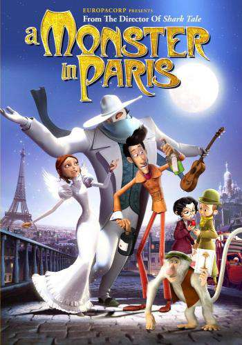A Monster in Paris, Movie on DVD, Family