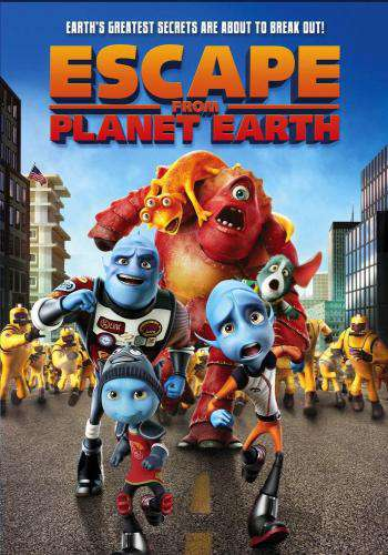 Escape From Planet Earth, Movie on DVD, Family