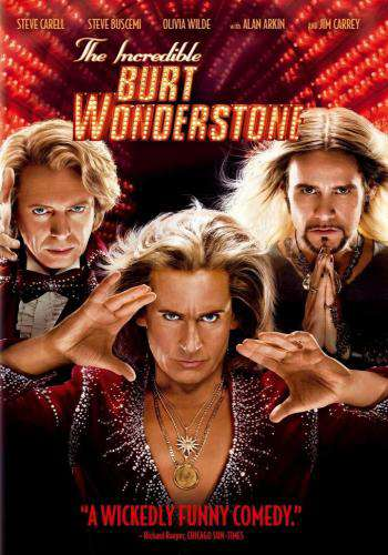 The Incredible Burt Wonderstone, Movie on DVD, Comedy