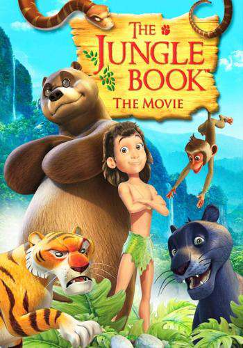 The Jungle Book, Movie on DVD, Family Movies, Kids