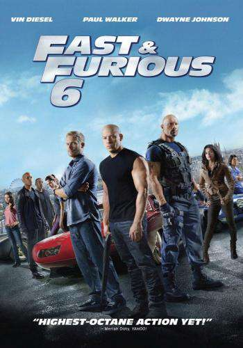 Fast & Furious 6, Movie on DVD, Action Movies, redbox Replay