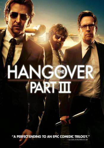 The Hangover Part III, Movie on DVD, Comedy