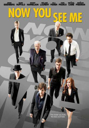Now You See Me, Movie on DVD, Action Movies, Suspense