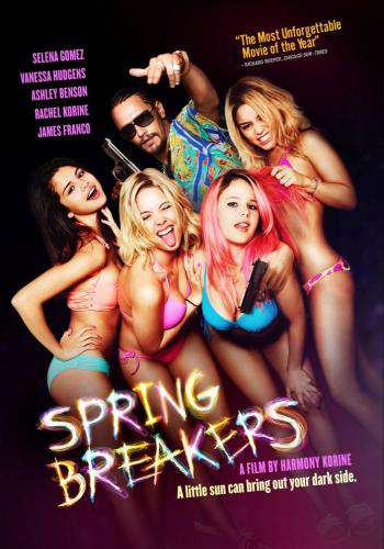 Spring Breakers, Movie on DVD, Action