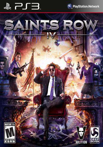 Saints Row: IV, Game on PS3, Action