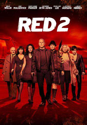 Red 2, Movie on DVD, Action