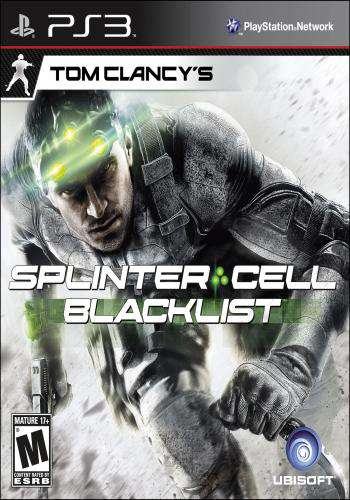 Tom Clancy's Splinter Cell Blacklist, Game on PS3, Shooter
