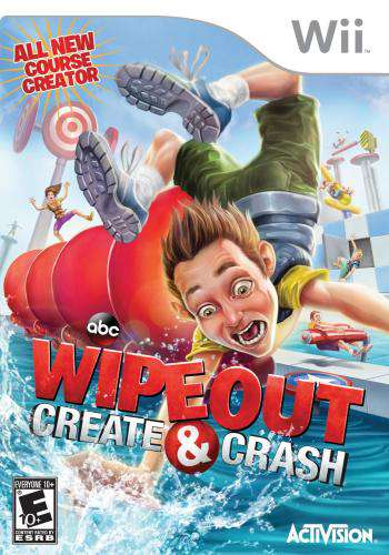 Wipeout: Create & Crash, Game on Wii, Family