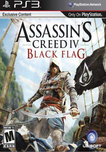 Assassins Creed IV: Black Flag, Game on PS3, Action